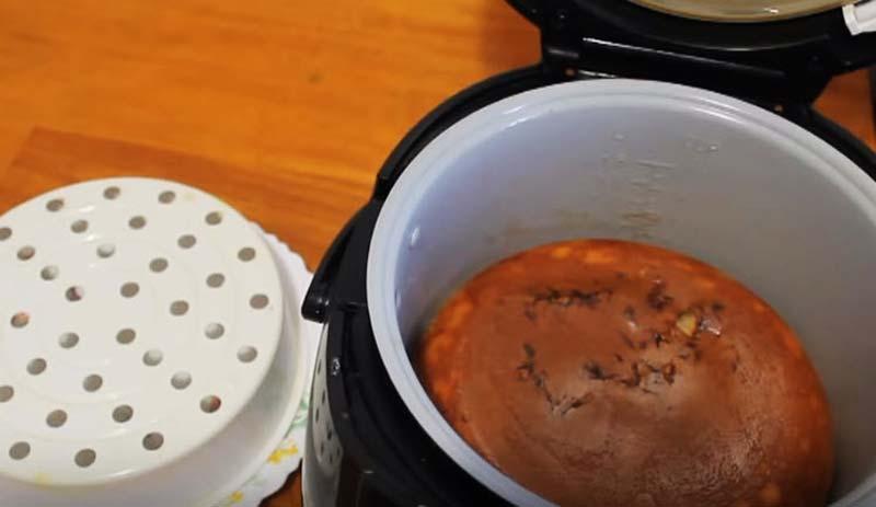 перевернуть пирог с капустой