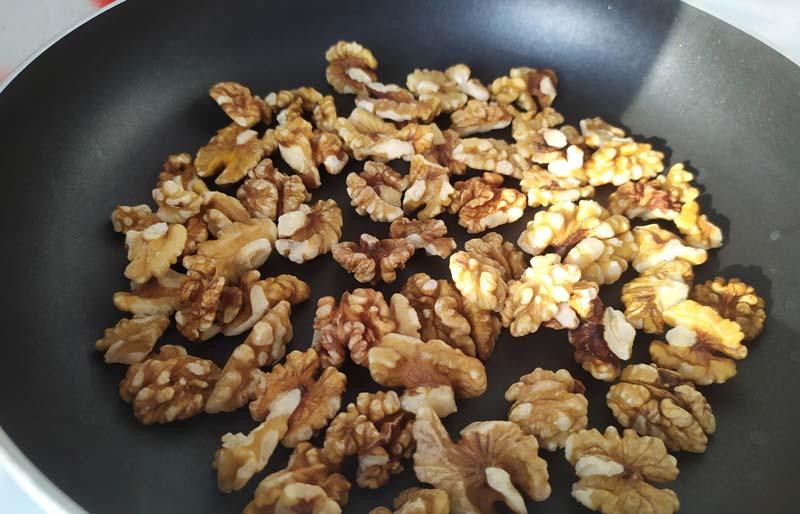 Жарим грецкий орех