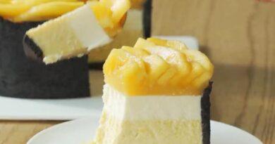Чизкейк — классический рецепт с манго в домашних условиях